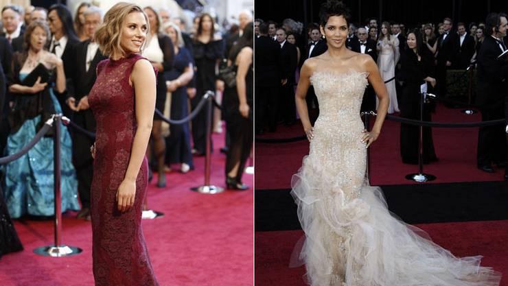 Hot: Scarlett Johannson («Dolce&Gabbana»), Halle Berry («Marchesa»).