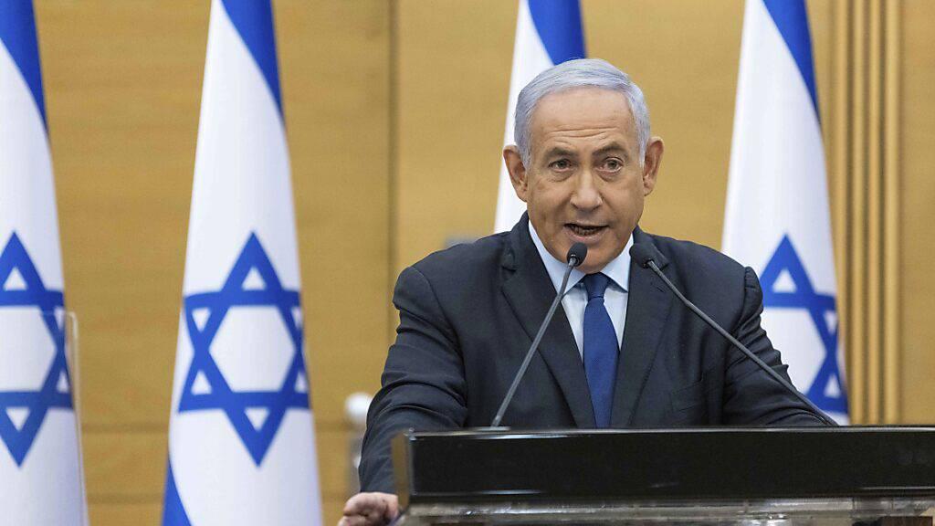 Netanjahu vor dem Aus: Gegner wollen Israels neue Regierung bilden