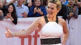 Kate Winslet, hier am 10. September 2017 am Toronto-Filmfestival, lernte ihren Mann bei einer Feuerkatastrophe kennen. (Archiv)