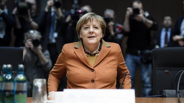 Auch Bundeskanzlerin Angela Merkel wurde vom NSA-Untersuchungsausschuss des Bundestags befragt (Archiv)