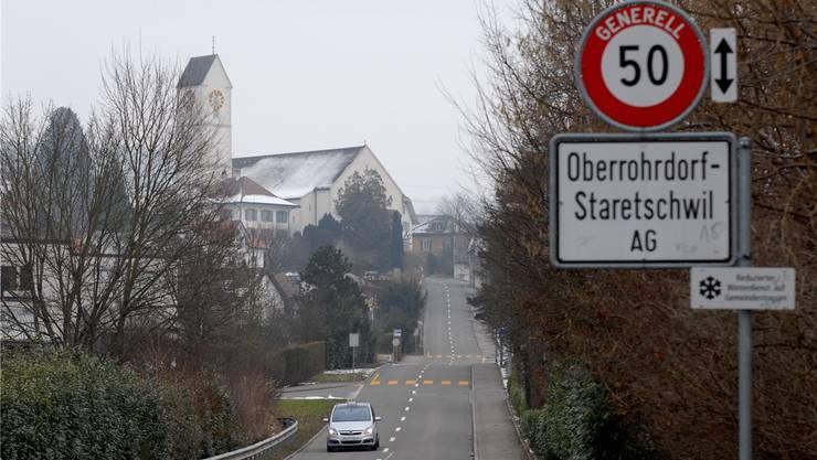Oberrohrdorf wird bis 2020 voraussichtlich rund 12,5 Millionen Franken Schulden anhäufen. Walter Schwager/Archiv