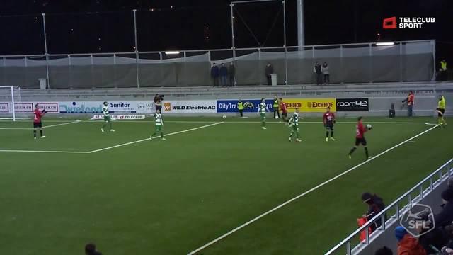 Challenge League, 2018/19, 18. Runde, SC Kriens - FC Aarau, 0:1 Martin Liechti