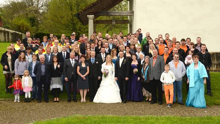 Die Hochzeit von Nicole und Michael vom Bözberg.