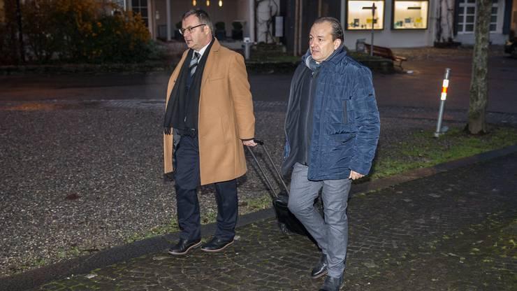 Der bekannte Garagist sagte am ersten Prozesstag vor Gericht aus.