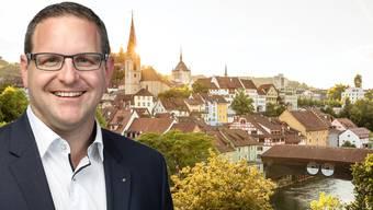 Einwohnerrat Philippe Ramseier will, dass Baden zur innovativsten Stadt des Landes wird.