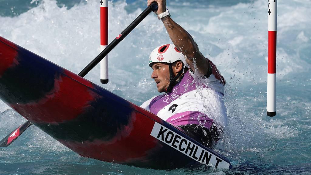 Thomas Koechlin verpasst den Wildwasser-Final