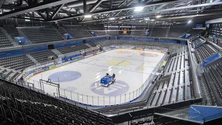 Wann kann wieder Eishockey vor vollen Zuschauerrägen gespielt werden?