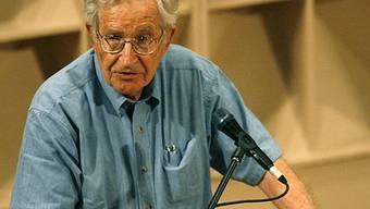 Nimmt an Debatte per Video teil: Noam Chomsky (Archiv)
