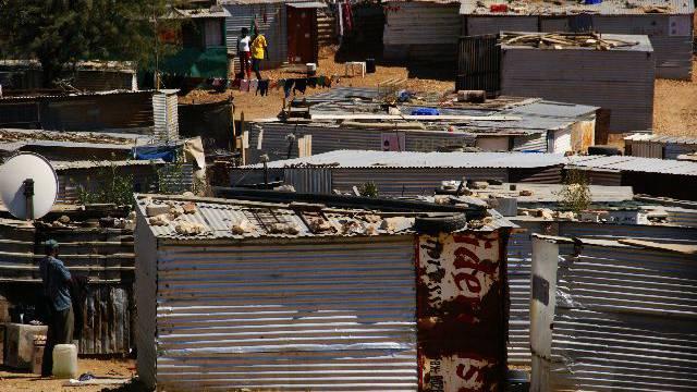 Informal Settlement von Hakahana (Bild: Nicole Annette Müller)