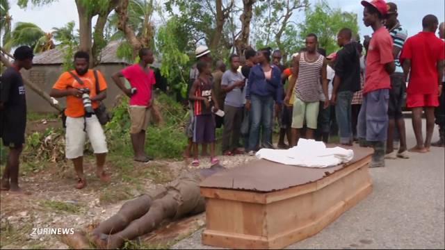 Hurrikan gibt Haiti den Rest