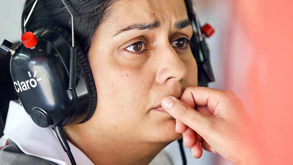 Monisha Kaltenborn muss sich bei Fragen zur finanziellen Situation des Teams Sauber zurückalten