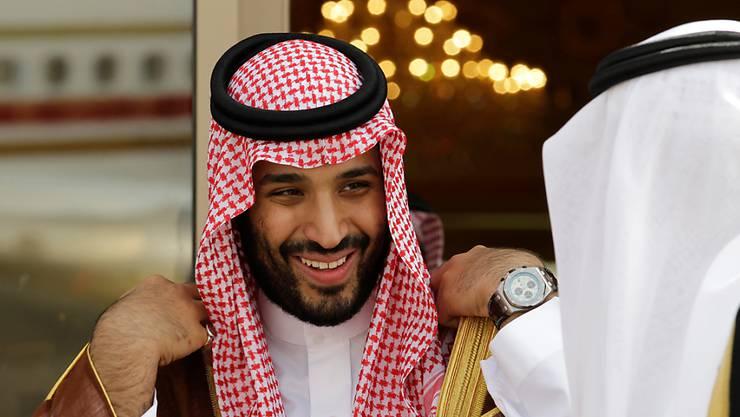 Der saudische Kronprinz Mohammed bin Salman hat sich zum Fall Khashoggi geäussert. (Archiv)