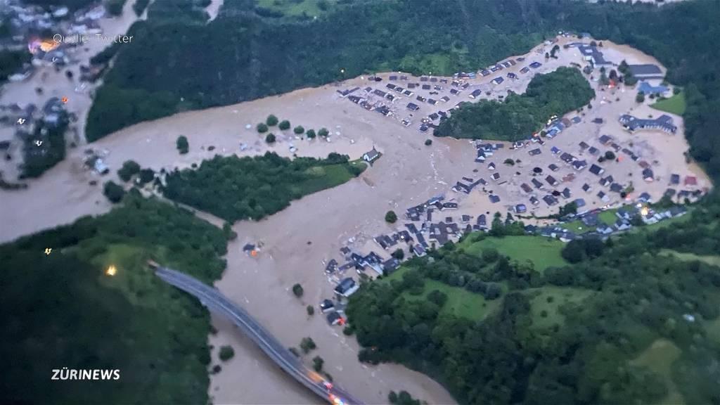 Extreme Unwetter in Deutschland fordern mindestens 42 Tote: Hochwasser flutet mehrere Dörfer