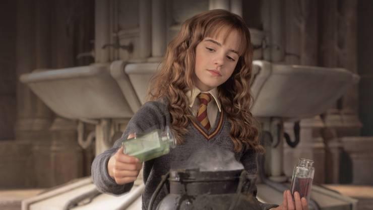 Paradebeispiel einer Streberin: Hermine Granger macht mehr, als sie müsste.