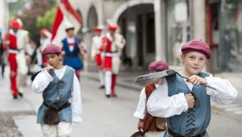 Vortanzen an der Vorstädter-Chilbi in Solothurn