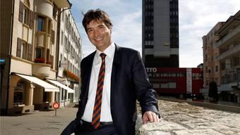 François Scheidegger, Stadtpräsident von Grenchen, wird schon bald wieder abgesetzt.