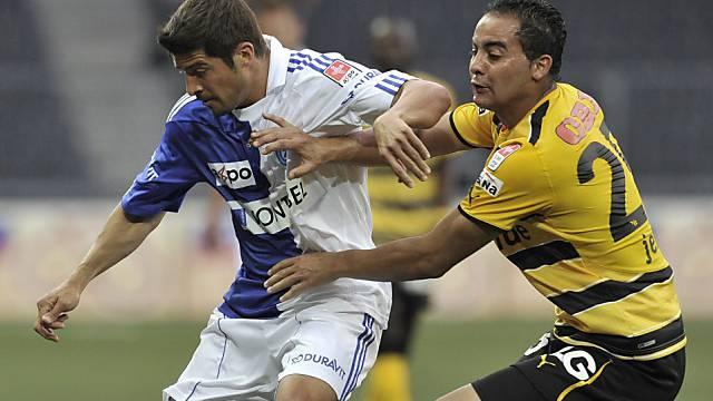 Der Treffer von Ammar Jemal (rechts) reichte nicht zum Sieg