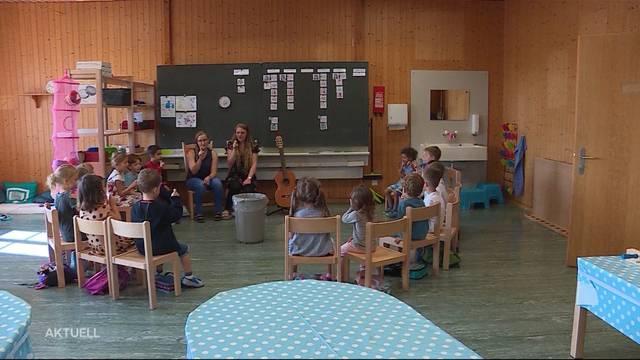 So viele Kindergärtner in Kölliken wie noch nie