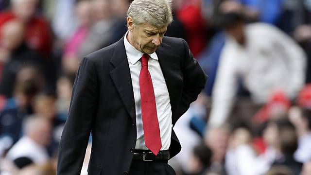 Arsène Wenger gerät immer mehr oder Druck.
