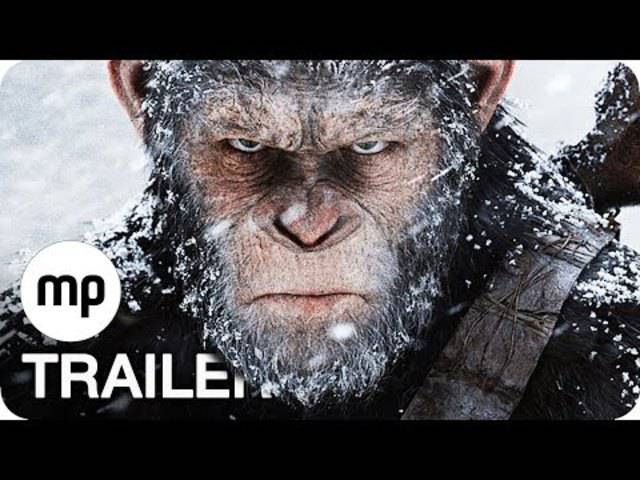 War for the Planet of the Apes – der Trailer