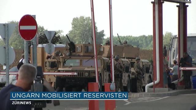 Ungarisch-kroatische Grenze geschlossen