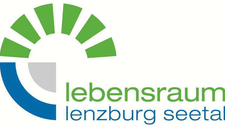 Das Logo der Organisation Lebensraum Lenzburg Seetal.