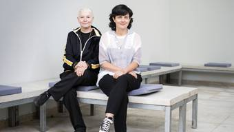 Das Künstlerinnenduo Pauline Boudry (rechts) und Renate Lorenz verwandelt den Schweizer Pavillon an der diesjährigen 58. Kunstbiennale in Venedig in eine filmische Installation.