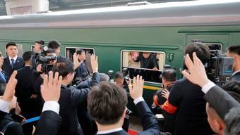 Politik im Eisenbahnwaggon