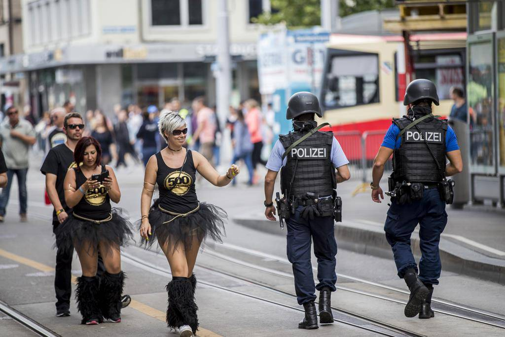 Die Street Parade 2017 in Bildern