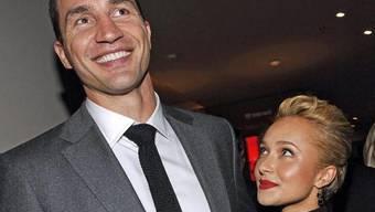 Das Paar Hayden Panettiere und Wladimir Klitschko (Archiv)