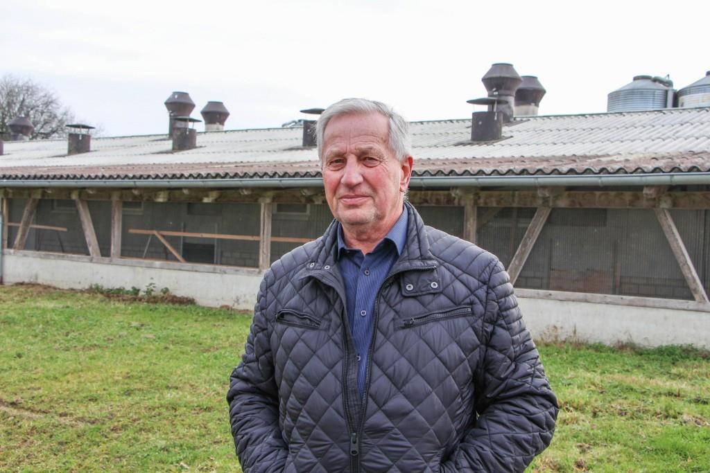 Peter Soller, Seniorchef der Legehennen-Aufzucht in Neukirch-Egnach. (© FM1Today/Stefanie Rohner)