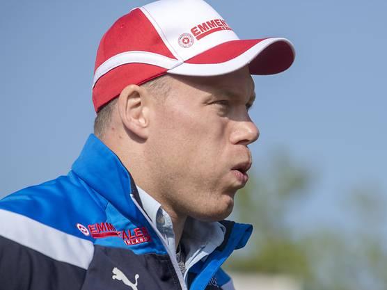Matthias Sempach wird schon früh in der Saison wieder geplagt