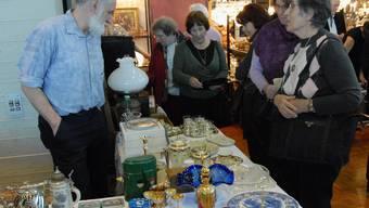 Impressionen von der Antiquitätenmesse Wettingen