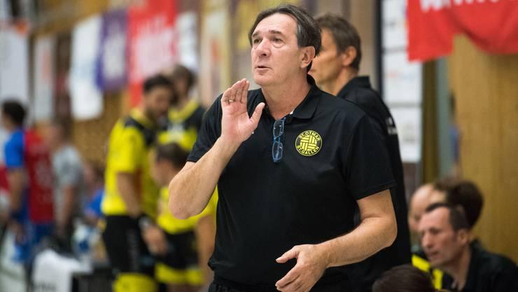 Zoltan Cordas war von 2015 bis 2018 Trainer beim TV Möhlin. Seit dieser Saison coacht er den NLA-Klub St. Otmar St. Gallen.