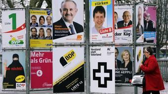 Wahlplakate 2011