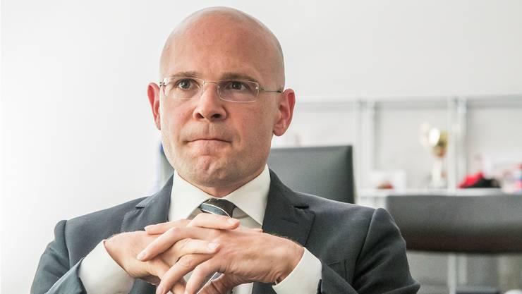 Die SP wollte die Inhaftnahme Jugendlicher ausschliessen. Für FDP-Regierungsrat Baschi Dürr ginge dies zu weit. (Archivbild)