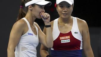 Martina Hingis bildet mit der Taiwanerin Chan Yung-Jan ein starkes Doppel