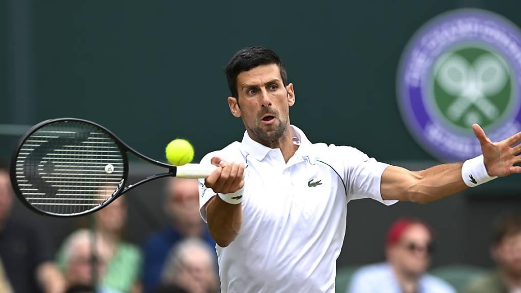 Djokovic und drei Debütanten