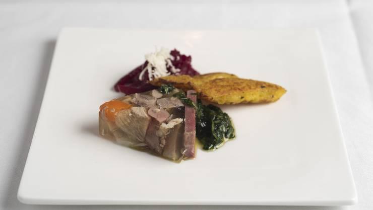 Jean Michel Vionnet: «Salat und Meerrettich geben dem Gericht die nötige Säure und Schärfe.»