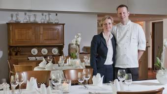 Edith und Peter Weber sind Gastgeber im Landgasthof Kreuz in Kappel/SO.Am 03. Mai 2012