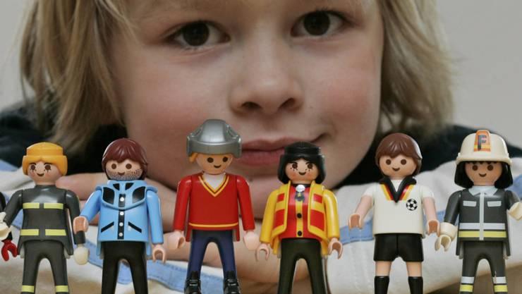 Der deutsche Playmobil-Hersteller Brandstätter ist dank dem Lizenzgeschäft mit Spielfiguren aus beliebten Kinofilmen auf Wachstumskurs. (Archiv)
