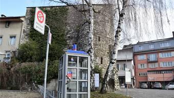 Selecta statt Swisscom: Die Telefonkabine an der Museumstrasse beim Storchenturm soll durch einen Verpflegungsautomaten ersetzt werden.