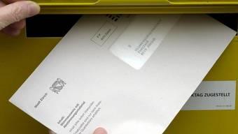 Mehrere Personen in Winterthur und Zürich erhielten mangelhafte Wahlcouverts. (Symbolbild)