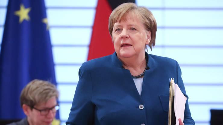 Mittendrin in der Coronadebatte: die deutsche Bundeskanzlerin Angela Merkel.