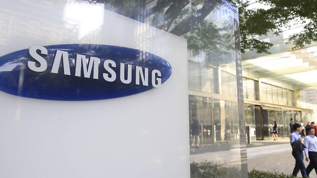 Samsung profitiert von steigender Nachfrage nach Galaxy-Smartphones. (Archivbild)