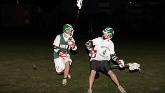 Im Halbfinal mit dabei: Das Lacrosse-Team Wettingen darf sich berechtigte Chancen auf den Schweizer Meistertitel machen.