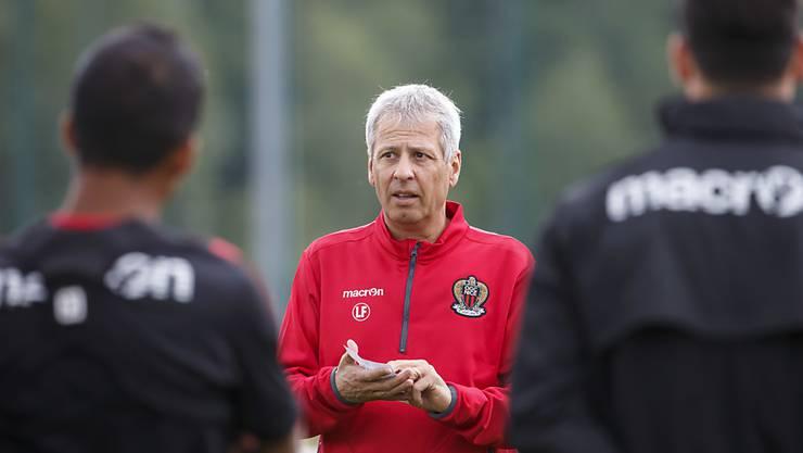 Lucien Favre erklärt in Nizza seine Ligue-1-Pläne