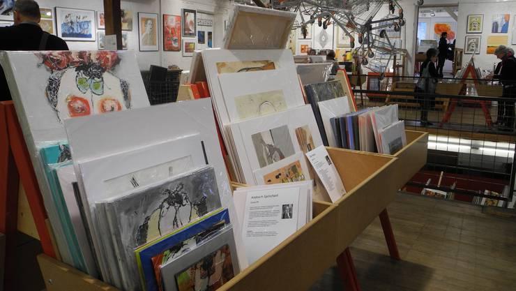 Impressionen vom 16. Solothurner Kunstsupermarkt