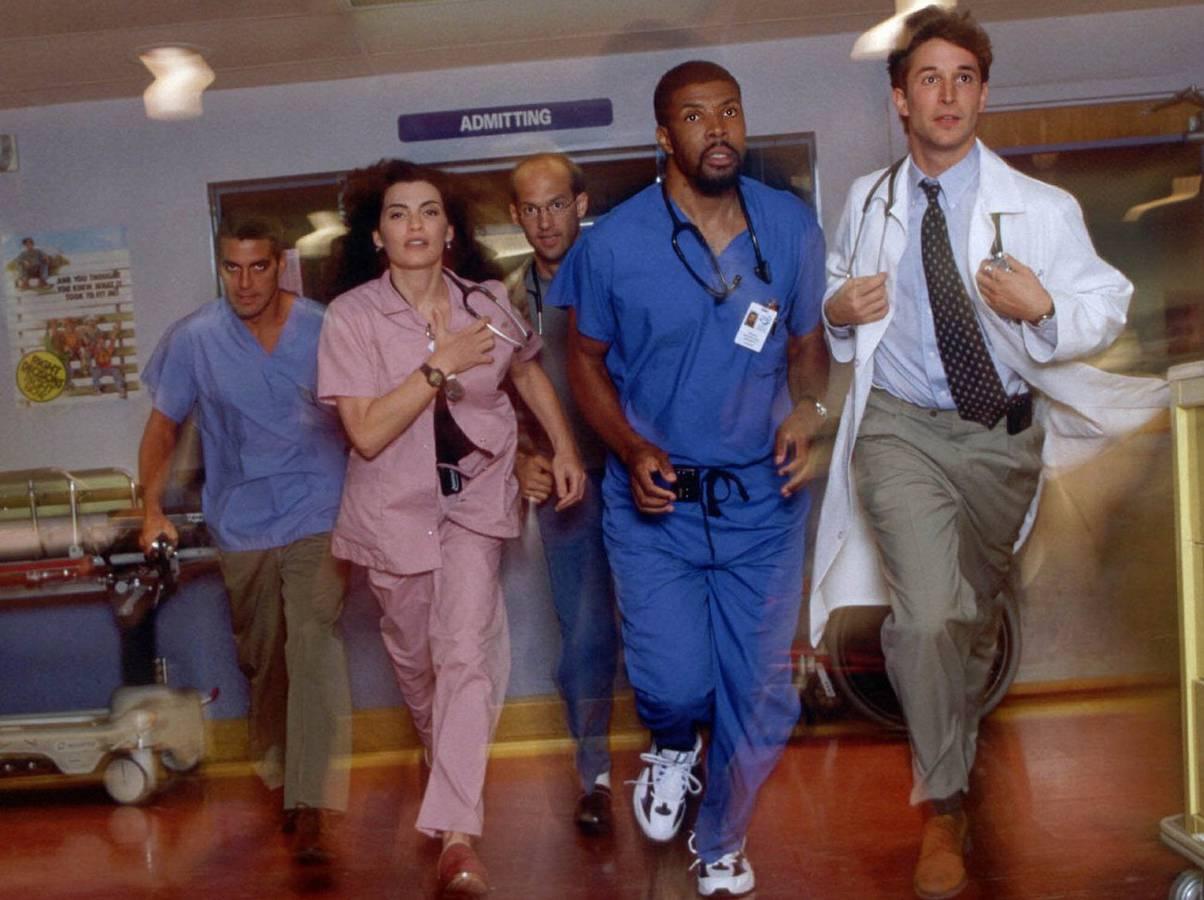 """Bekannt wurde George Clooney mit """"Emergency Room"""". (© Keystone)"""