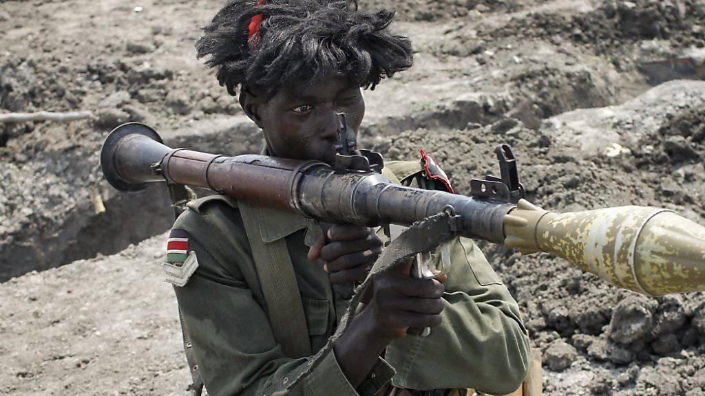 Bei weiteren Verstössen gegen die Waffenruhe droht die Uno dem Südsudan mit Sanktionen wie etwa einem Waffen-Embargo. (Symbolbild)